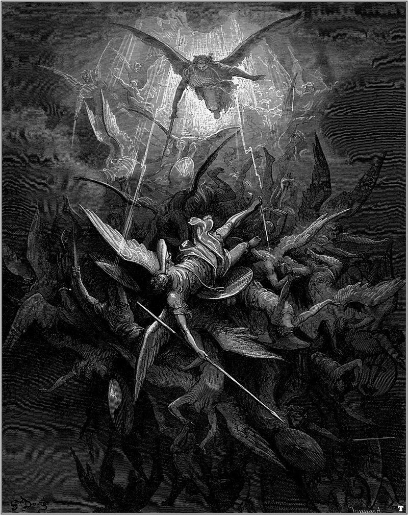 Goodness, Cannot be Harmless, Gustave Doré, Michael Casts out all of the Fallen Angels