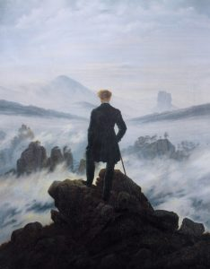 Wander Above the Sea of Fog, Caspar David Friedrich, 1817 approx