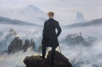 wander above the sea of fog, Caspar David Friedrich