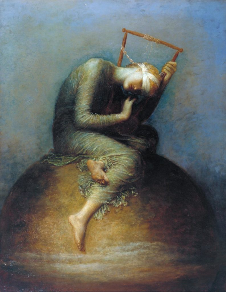 George Frederic Watts , Hope, 1886.