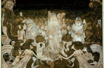 Jan Toorop, 1893, The Three Brides.