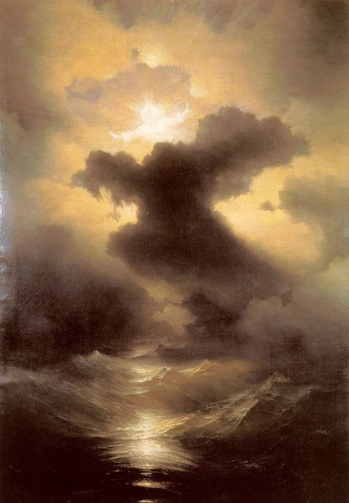Ivan Aivazovsky, 1841, Chaos