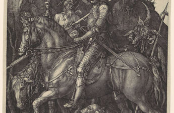 Albrecht Dürer,Knight, Death and the Devil, 1513