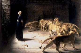 Briton Rivière, 1890, Daniel's Answer to the King
