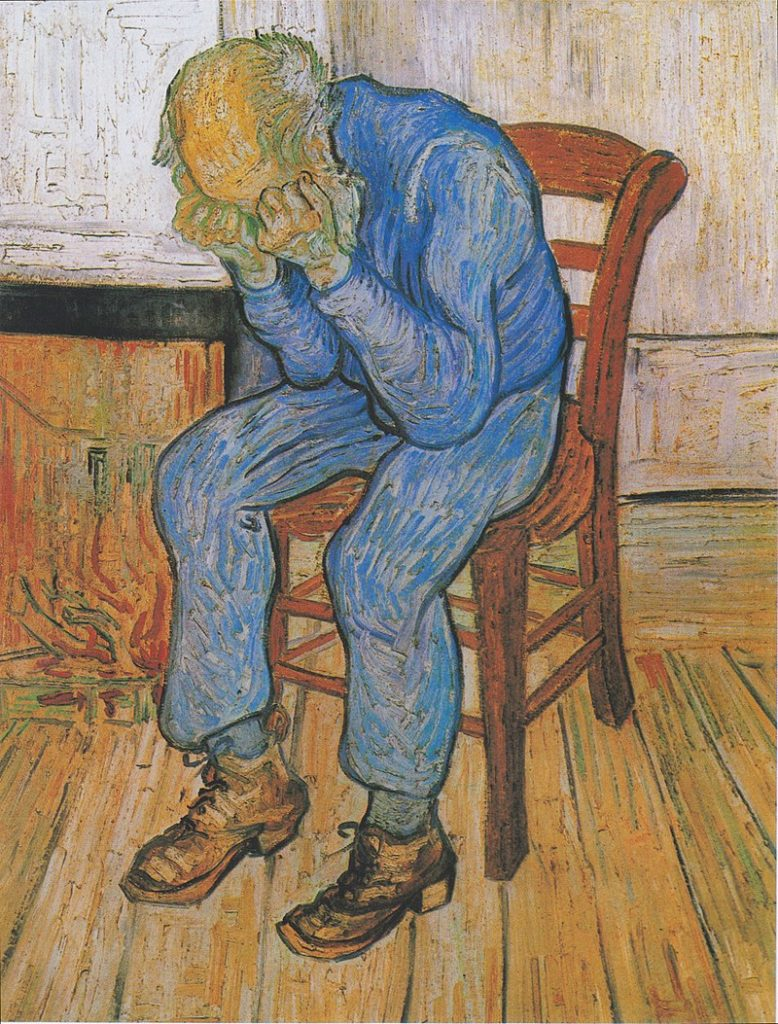Vincent van Gogh, 1890, At Eternity's Gate