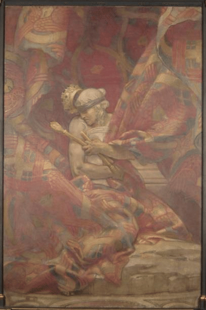 John Singer Sargent, 1919, Synagogue, Boston Public Library