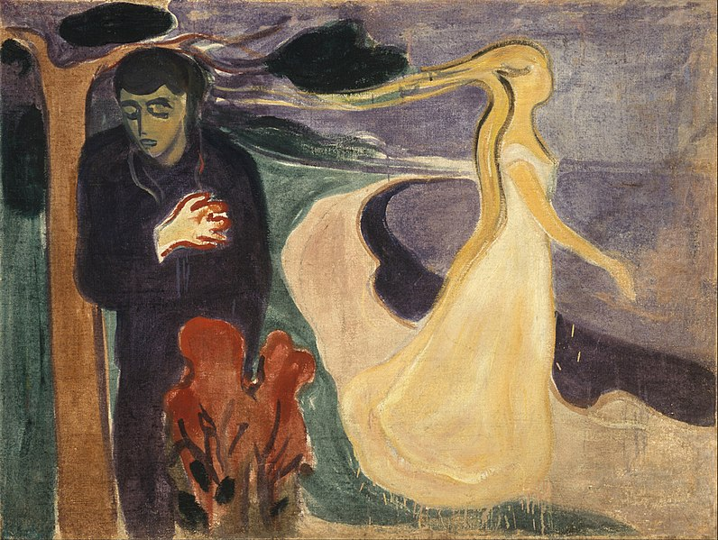 Edvard Munch, 1896, Separation, The Munch Museum, Oslo