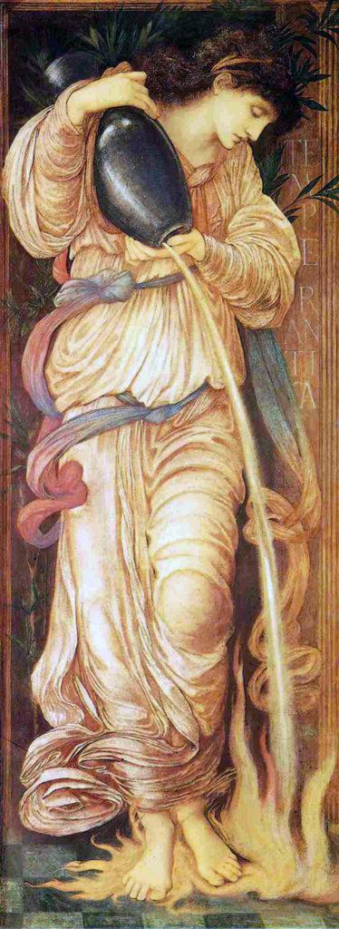 Sir Edward Coley Burne-Jones, 1872, Temperantia