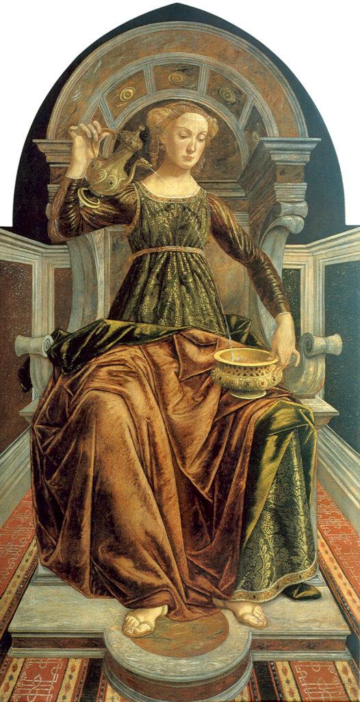 Piero del Pollaiolo,1469-1470, Temperance