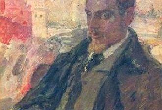 Leonid Pasternak, 1928, Portrait of Rilke