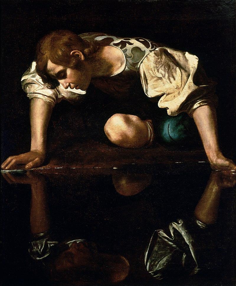 Caravaggio, 1597-99, Narcissus
