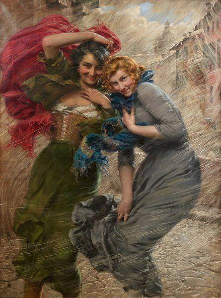 Gaetano Bellei, 1919, Rainy Day
