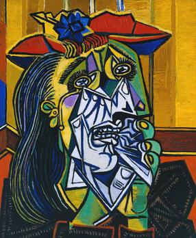 Pablo Picasso, 1937, Weeping Woman