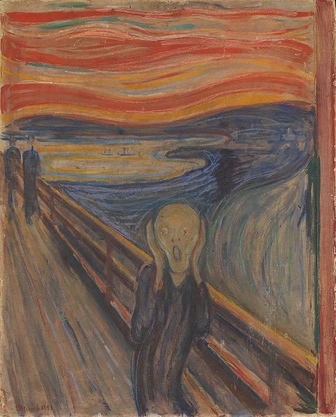 Edvard Munch, 1893, The Scream