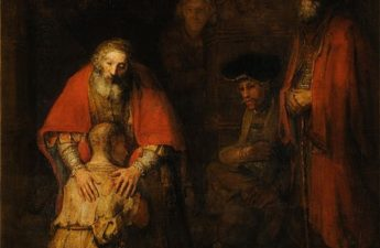Rembrandt, circa 1668, The Return of the Prodigal Son