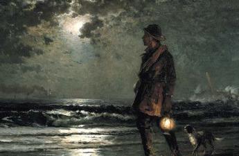 Edward Moran, 1893, Life Saving Patrol