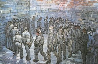 Vincent van Gogh, 1890, Prisoners' Round