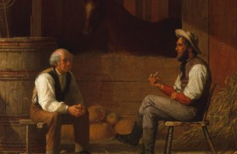 Enoch Wood Perry, 1872, Talking It Over, Met Museum