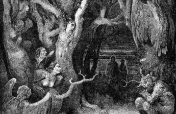 Gustav Doré,1868, The Divine Comedy, Inferno, Canto XIII