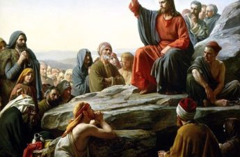 Carl Bloch, 1877, Sermon on the Mount