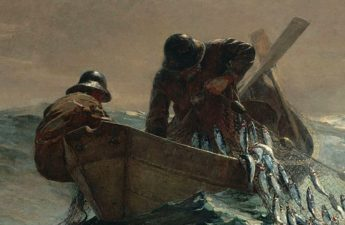 Winslow Homer, 1885, The Herring Net