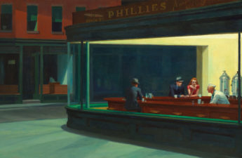 Edward Hopper, 1942, Nighthawks