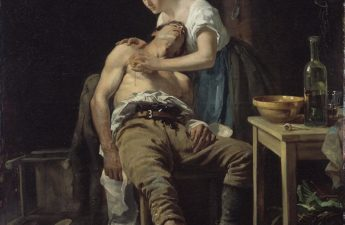 Henry Jones Thaddeus, 1881, The Wounded Poacher