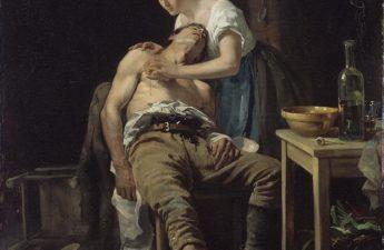 Henry Jones Thaddeus, 1881, The Wounded Poacher