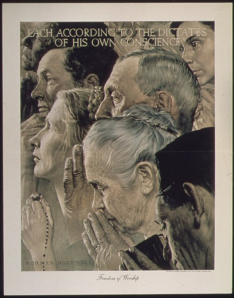 Norman Rockwell, 1941-1945, Freedom of Worship