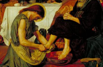 Ford Madox Brown, 1852-6, Jesus Washing Peter's Feet